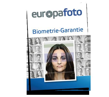 Passfotos mit Biometriegarantie